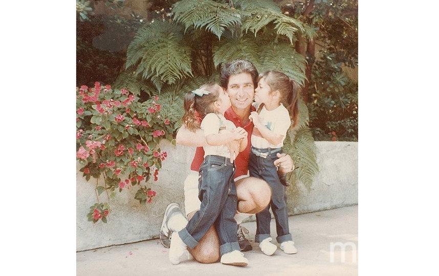 Ким Кардашьян с отцом. Фото instagram.com/kimkardashian