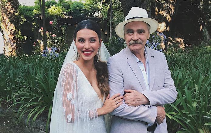 Регина Тодоренко с отцом. Фото instagram.com/reginatodorenko