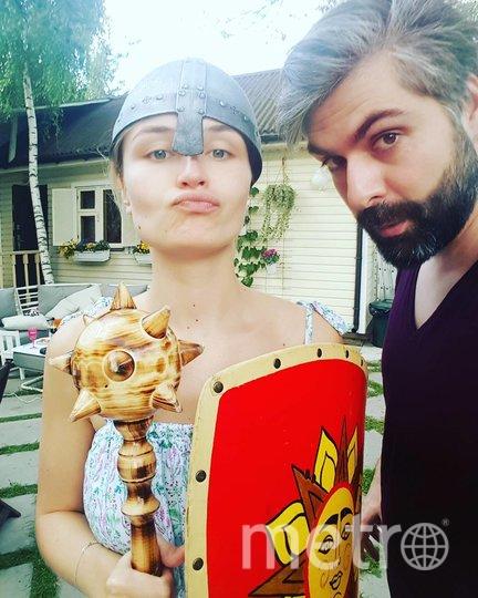 Полина Гагарина и Дмитрий Исхаков. Фото instagram.com/isxakov.