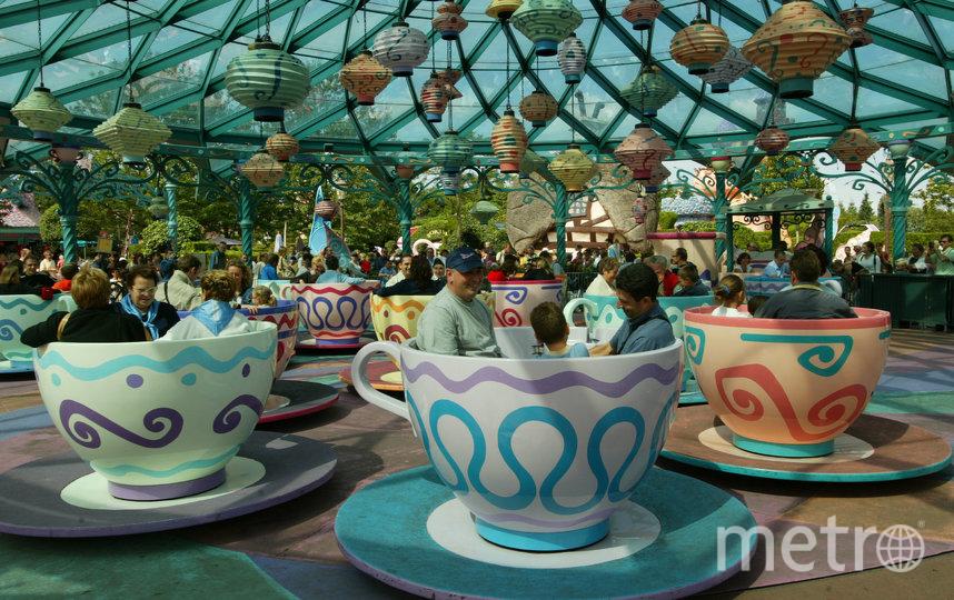 Disneyland Париж, каким мы его помним – без масок и запретов. Фото Getty