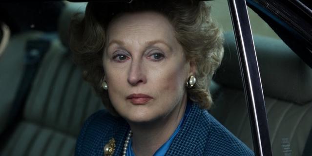 "Кадр из фильма ""Железная леди""."