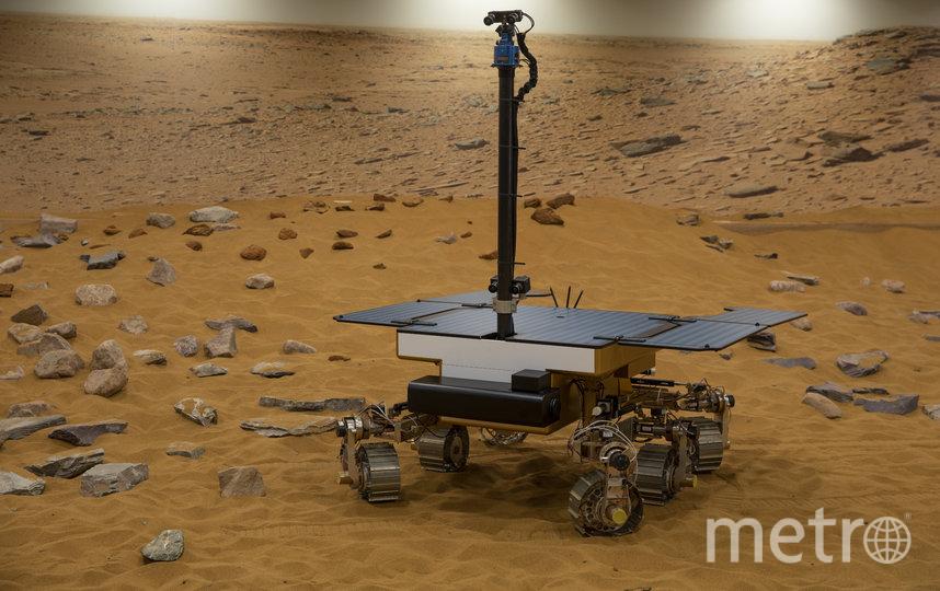 Модель марсохода. За Красную планету ближайшем будущем может начаться борьба. Фото Getty