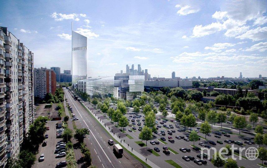 Проект Национального космического центра в Москве согласован. Фото Пресс-служба Москомархитектуры
