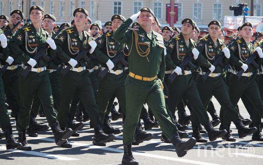 Парад Победы в Петербурге. Фото Святослав Акимов