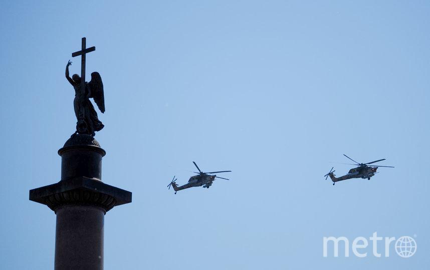 Авиация на Параде Победы в Петербурге. Фото Святослав Акимов