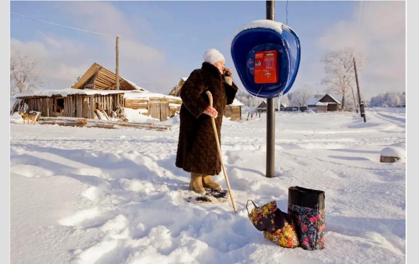 В российской глубинке. Фото Франк Херфорт / frankherfort.com