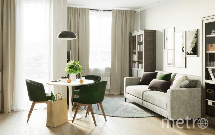 В будущем, считают застройщики, заметная часть квартир будет сдаваться не только с отделкой, но и с мебелью. Фото ГК «КВС»