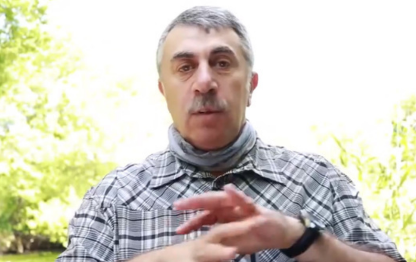 Доктор Комаровский. Фото Instagram @doctor_komarovskiy