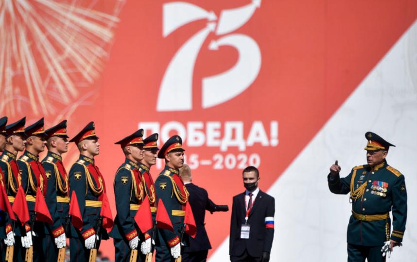 Парад Победы-2020 в Москве. 24 июня. Фото AFP