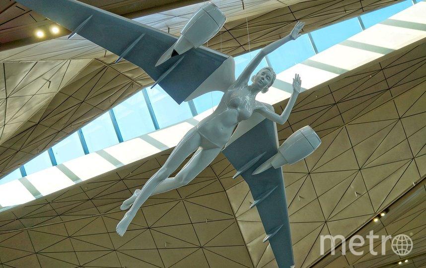 """Меры эпидемиологической безопасности в аэропорту сохраняются. Фото pixabay.com, """"Metro"""""""