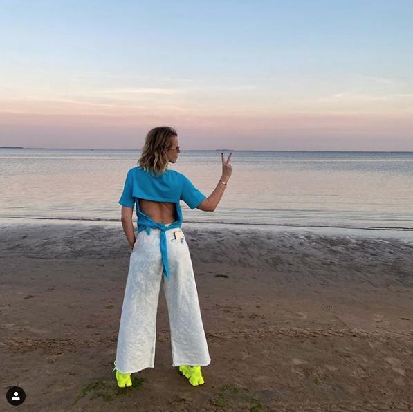 Ксения Собчак. Фото скриншот https://www.instagram.com/xenia_sobchak/