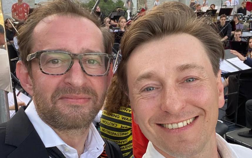 Константин Хабенский и Сергей Безруков. Фото Instagram @s_bezrukov