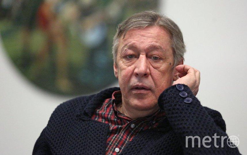 """Михаил Ефремов. Фото агентство """"Москва"""""""
