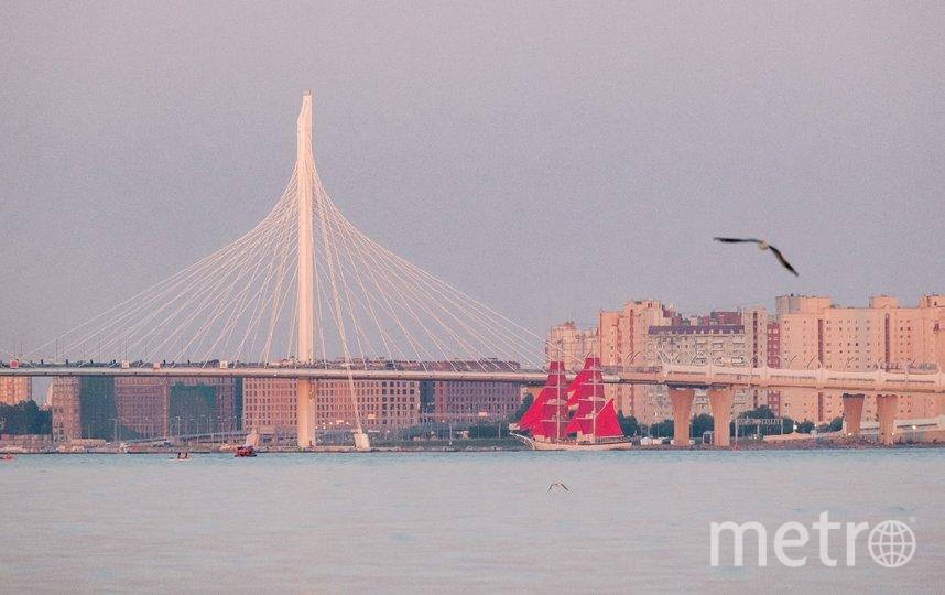 """Бриг """"Россия"""" можно увидеть в заливе. Фото Алена Бобрович, """"Metro"""""""