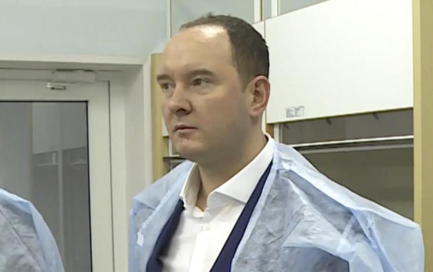 Дмитрий Натаров. Фото  Россельхознадзоре