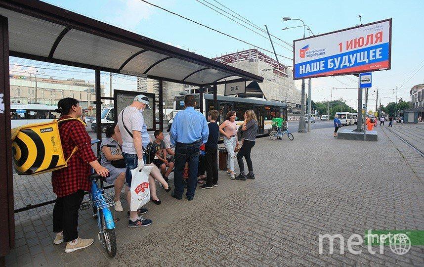 Москва поглощена голосованием. Фото Василий Кузьмичёнок