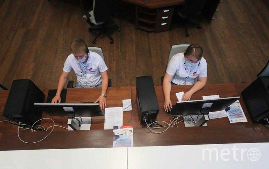 В Общественном штабе следят за ходом голосования. Фото Василий Кузьмичёнок