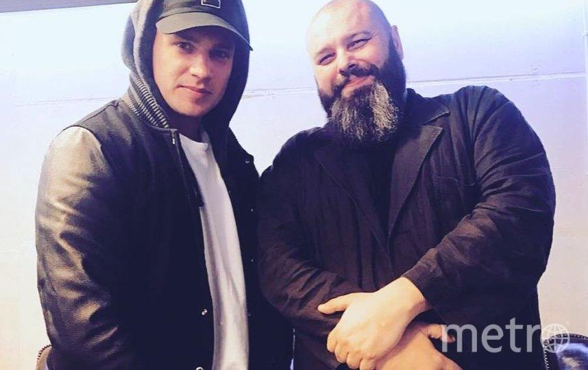 Максим Фадеев (справа, 2017-й). Фото Скриншот Instagram/fadeevmaxim