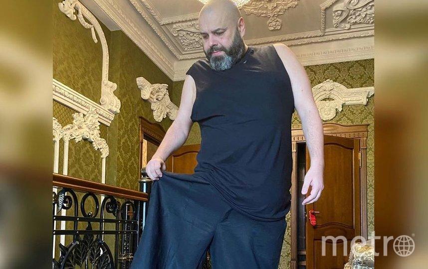 Похудевший Максим Фадеев. Фото Скриншот Instagram/fadeevmaxim