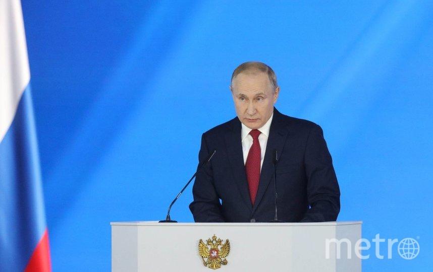 """Президент РФ Владимир Путин. Фото агентство """"Москва"""""""