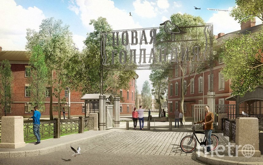 """""""Новая Голландия"""" открыта для посещения с 29 июня 2020 года. Фото https://vk.com/newhollandsp, """"Metro"""""""