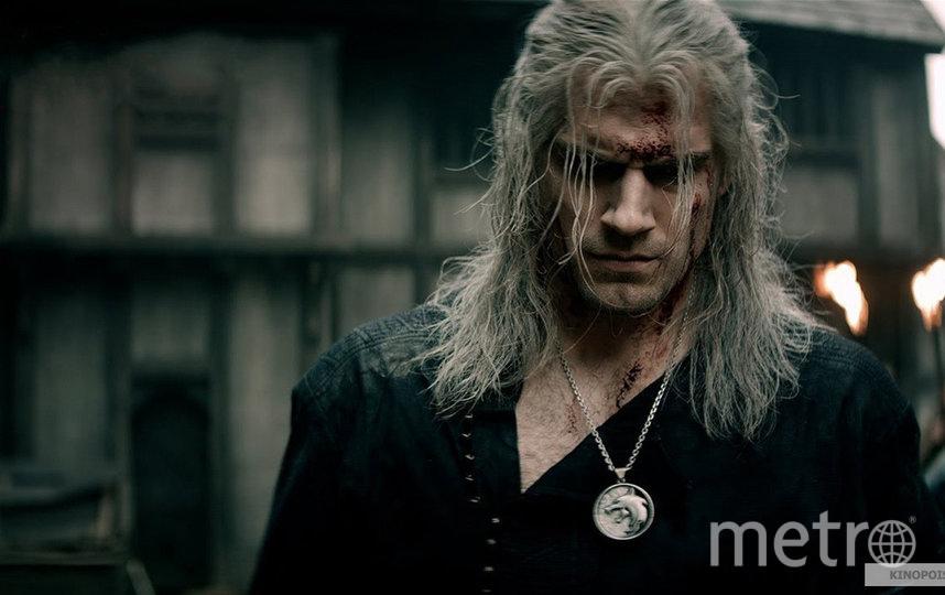 Генри Кавилл в роли Ведьмака. Фото Netflix., kinopoisk.ru