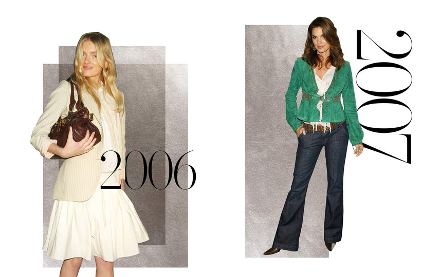 Сумка Chloe Paddington и джинсы-клёш True Religion. Фото Net-A-Porter