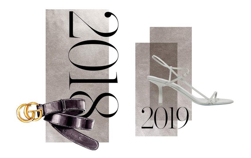 Ремень Gucci и босоножки The Row. Фото Net-A-Porter