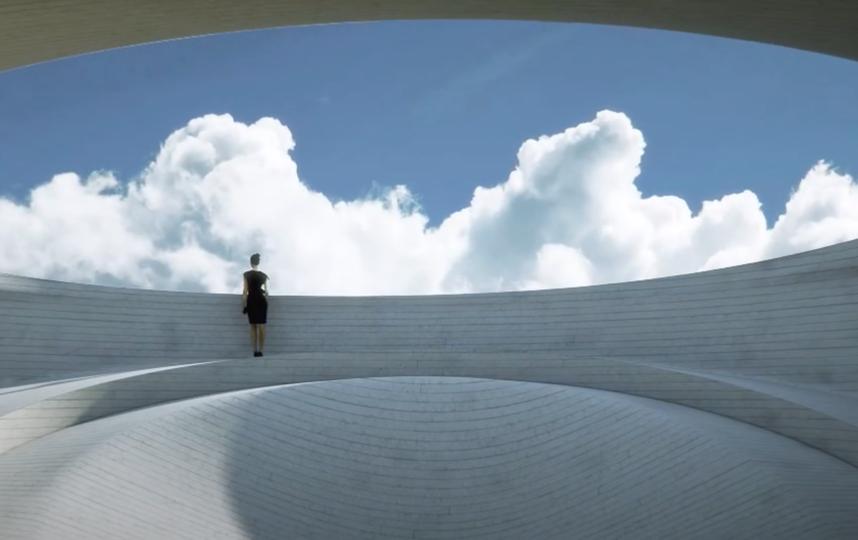 "На каждом ""валуне"" будет смотровая площадка. Фото youtube@ MAD architects, ""Metro"""