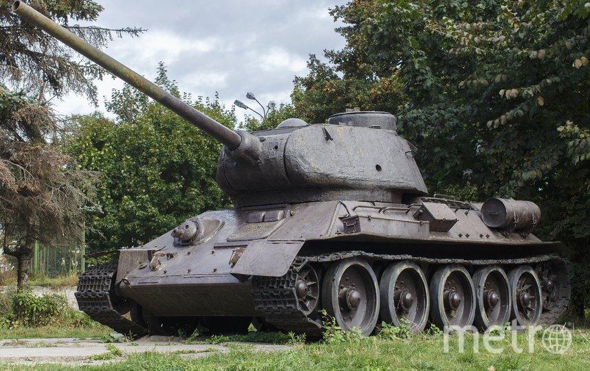 Танк Т-34, архивное фото. Фото Pixabay
