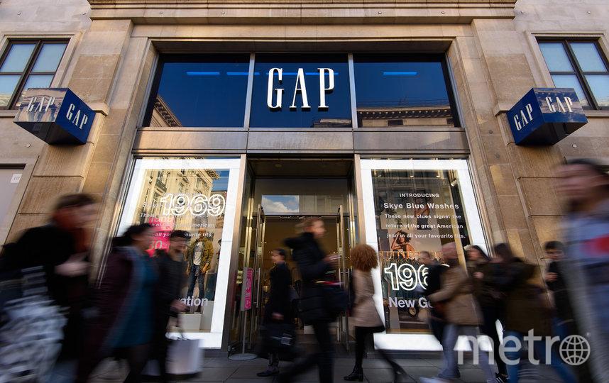 Магазин GAP. Фото Getty