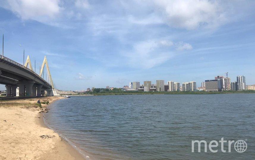"""Новый экстрим-парк будет располагаться под мостом """"Миллениум"""". Фото Ильяс Хафизов, """"Metro"""""""