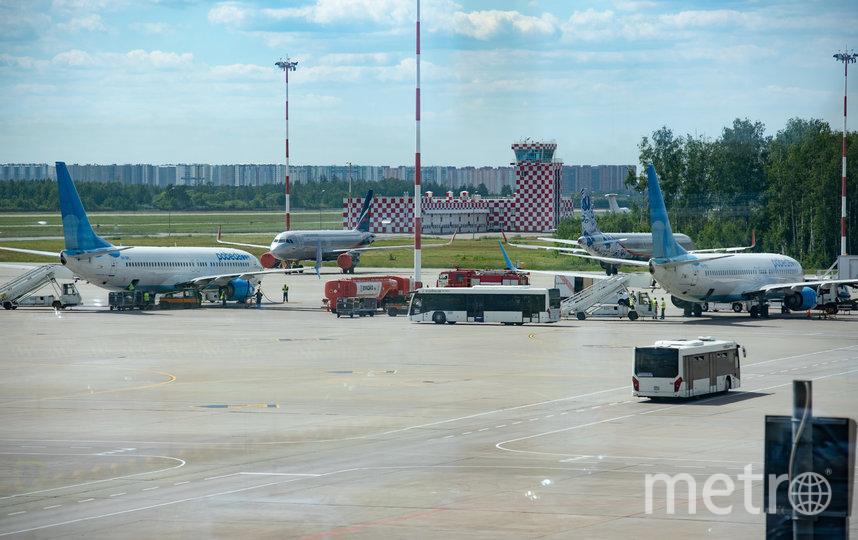 """С июня 2020 года """"Победа"""" выполняет полеты из Пулково после карантина. Фото """"Metro"""""""