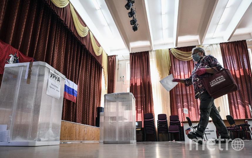 1 июля проголосовать можно будет только на участке. Фото AFP