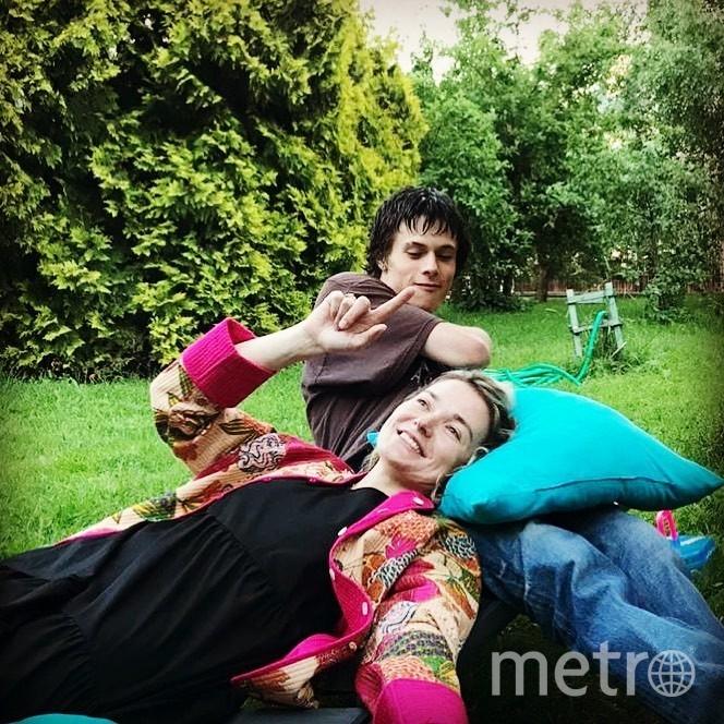 Надежда Михалкова и Андрей Баков. Фото instagram.com/nadiamixalkova.