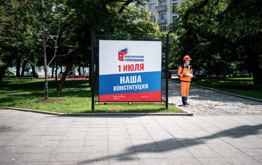 Москвичи могут выбрать удобный для себя способ участия. Фото AFP