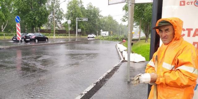 Последствия непогоды в Петербурге 30 июня.