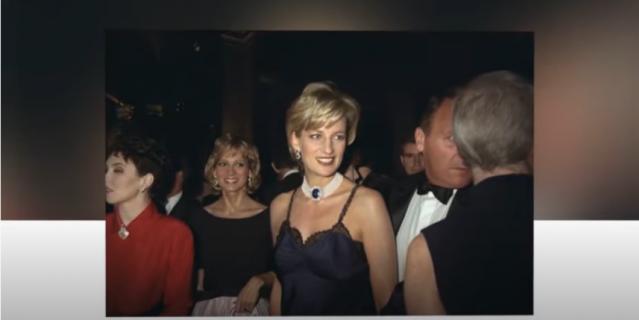 Платье Дианы на Met Gala.