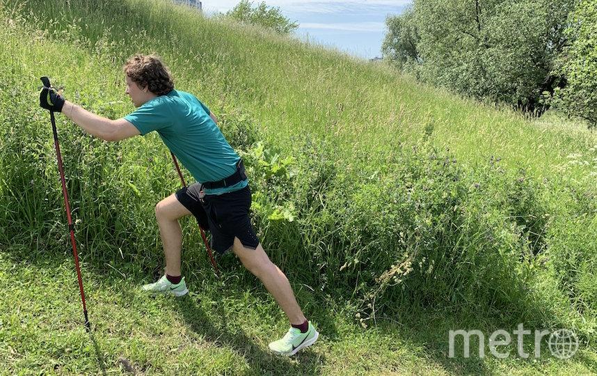 Иван Ерхов активно тренируется перед восхождением. Фото предоставлено Иваном Ерховым.