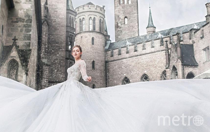 Disney выпустил коллекцию свадебных платьев как у принцесс. Фото allurebridals.com