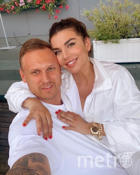 Янис Тимма и Анна Седокова. Фото instagram.com/annasedokova.