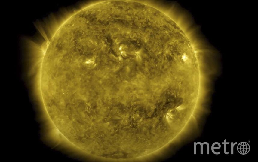NASA показало 10-летний цикл жизни Солнца. Фото AFP