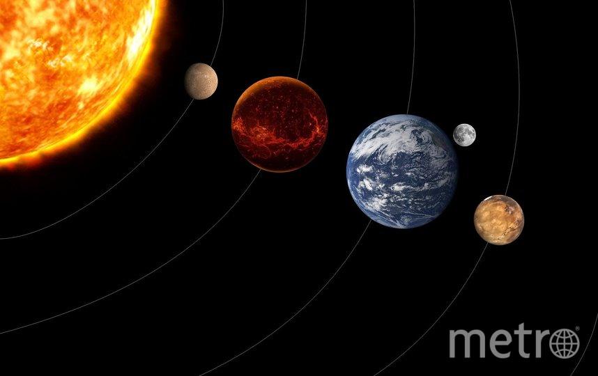 Планеты Солнечной системы 4 июля могут выстроиться в ряд. Фото pixabay.com