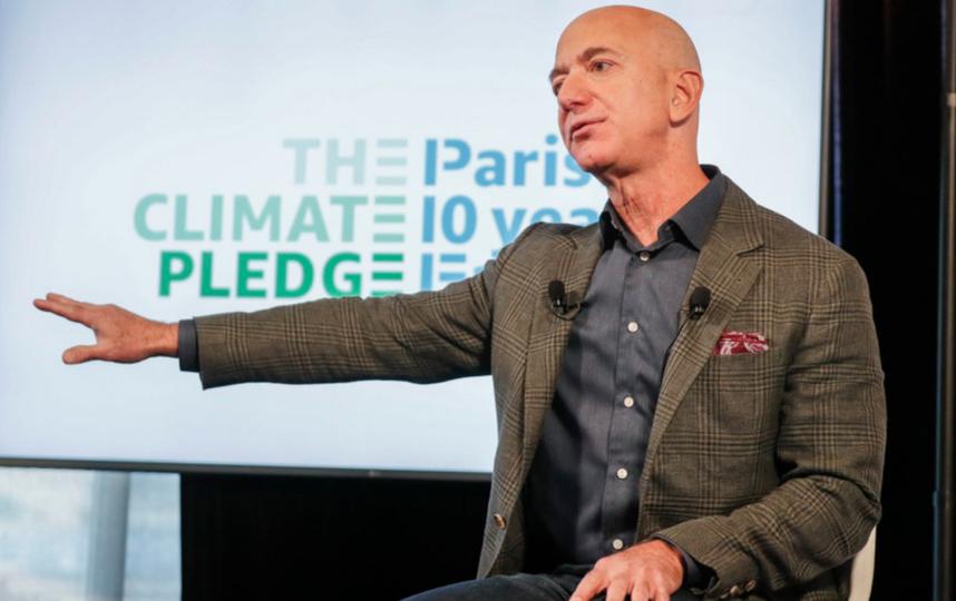 Рост благосостояния миллиардера обусловлен повышением стоимости акций Amazon. Фото Getty