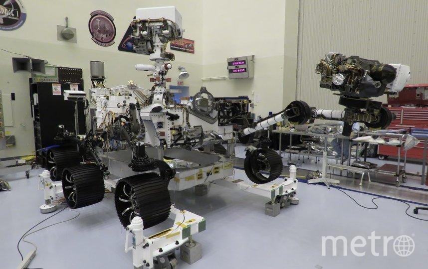 Марсоход NASA. Фото NASA/JPL