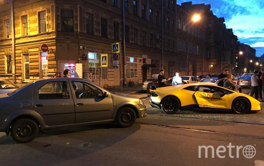"""ДТП произошло в центре города. Фото ДТП/ЧП, """"Metro"""""""