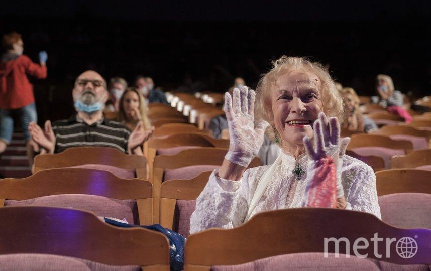 "Татьяне Пилецкой аплодировали стоя. Фото Алена Бобрович, ""Metro"""