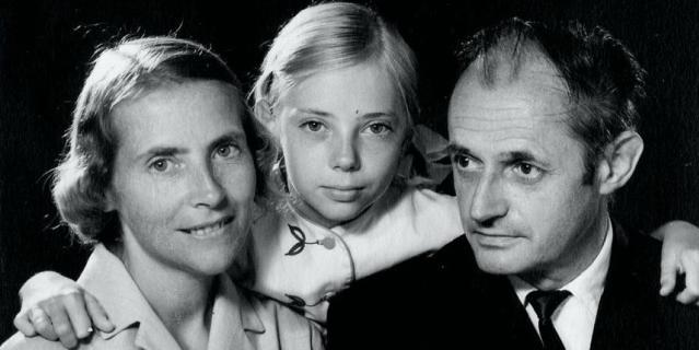 Семья Джулианы Кёпке (слева направо) – мама Мария, сама Джулиана, отец, профессор Ганс-Вильгельм.