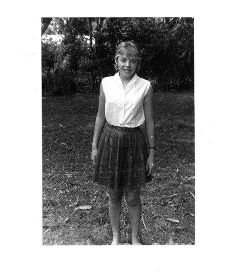 """Джулиана Кёпке не испугалась поехать в лес всего через год после авиакатастрофы. Фото предоставила Juliane Diller, """"Metro"""""""