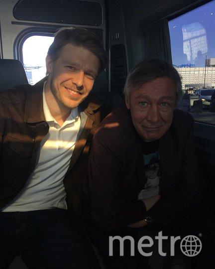 Никита Ефремов с отцом. Фото instagram.com/efremovefremov.